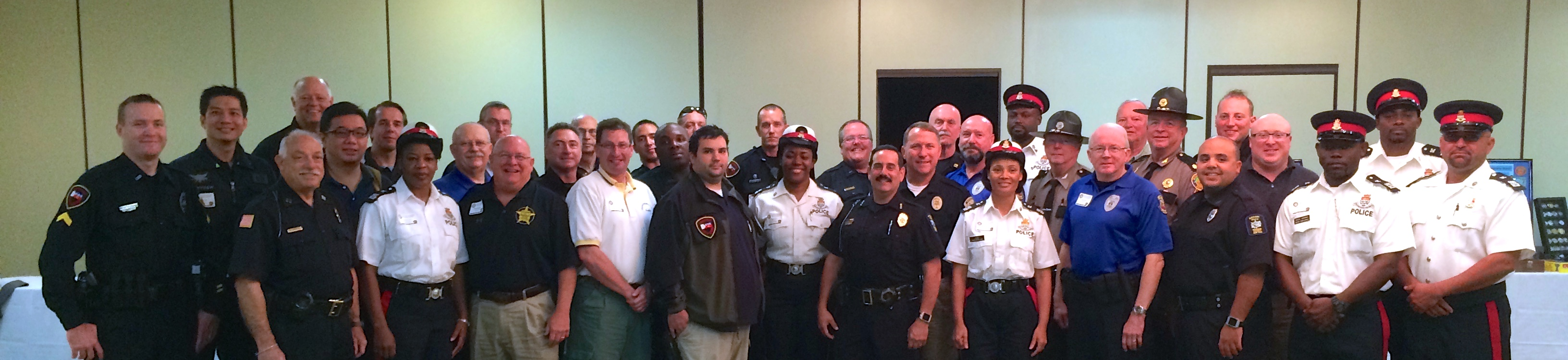 2014 Reserve Law Enforcement Conference attendees